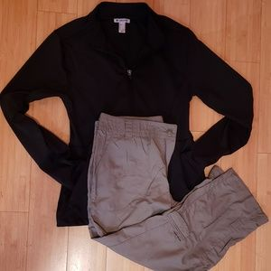 $20 sport outfit Forever 21 jacket L Columbia pant